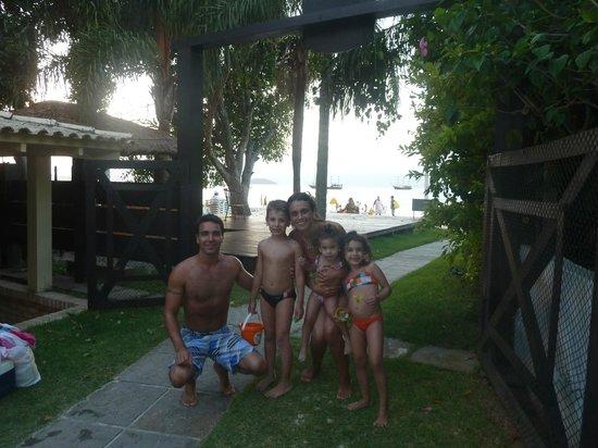 Hotel Maratea Mare: salida a la playa