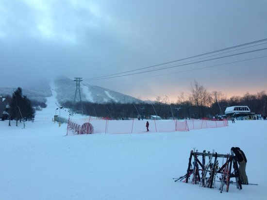 Jay Peak Resort: Jay Peak Cloud at the end of the day.