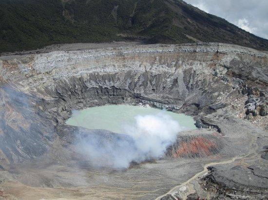 Poas Volcano: Volcan Poas, Costa Rica