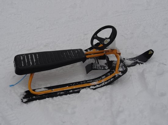 Rondane Gjestegard: sledges for free to rent
