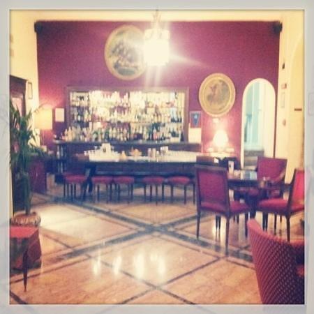 Grand Hotel et Des Palmes: bar gattopardo