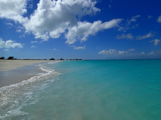 The Meridian Club Turks & Caicos: Two miles of beach