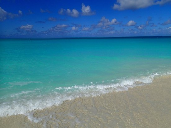The Meridian Club Turks & Caicos: Unbelievable water