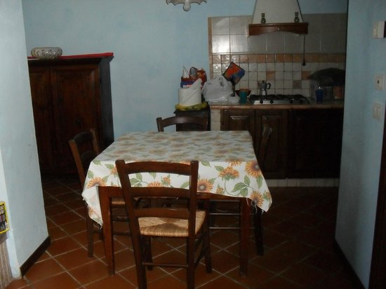 Agriturismo Santa Serena: Cucina