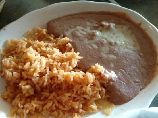 Rice and beans - Picture of Casa Maria Mexican Cuisine, St. Augustine - TripAdvisor