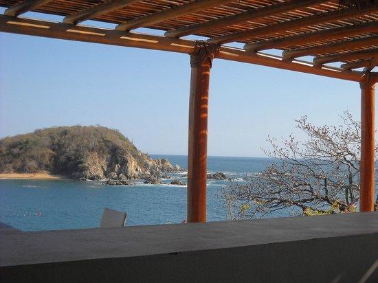 Secrets Huatulco Resort & Spa: castaways view