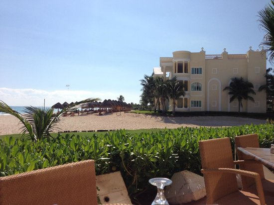 Iberostar Grand Hotel Paraiso: another view while eating lunch outside.
