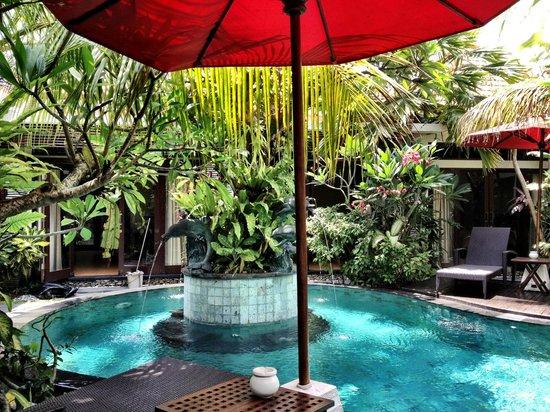 Rumah Santai Villas: pool 