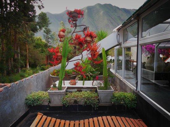 Aranwa Sacred Valley Hotel & Wellness: the orchid garden terrace