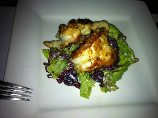 Villa Deveena: Grilled Lobster Salad