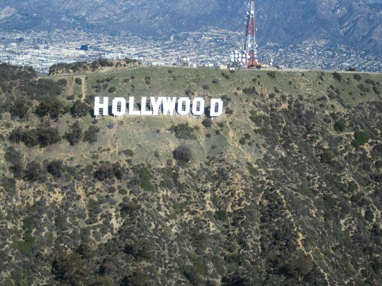 Elite Helicopter Tours: Hollywood Sign