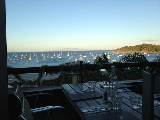 VinoVino Restaurant and Bar: Great views from the balcony complement the awesome food