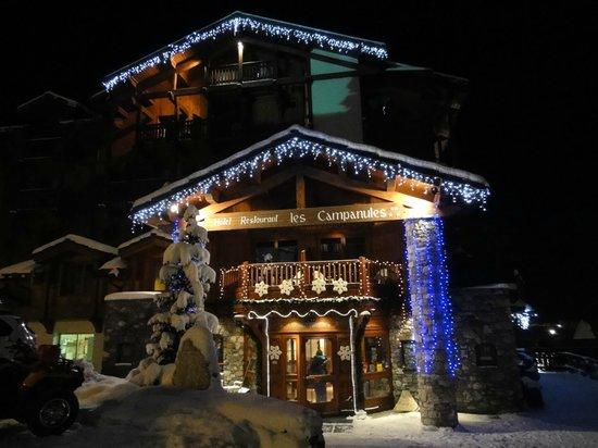 Hotel Les Campanules : L'hotel de nuit