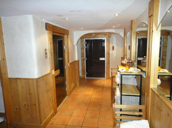 Hotel Les Campanules: spa (hamman et sauna)