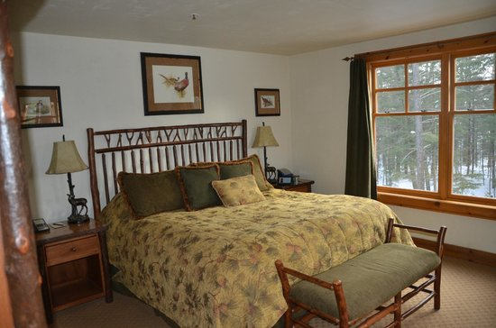 The Whiteface Lodge: Bedroom