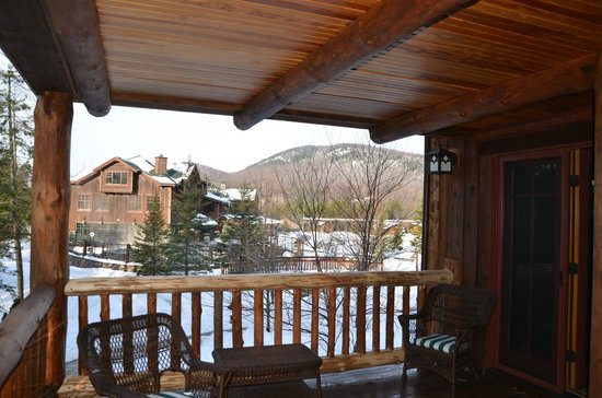 The Whiteface Lodge: View from Balcony