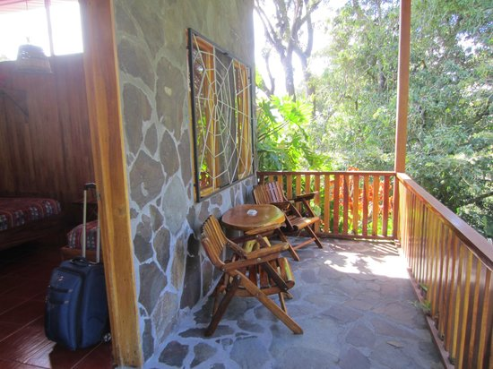 Arco Iris Lodge: Balcony
