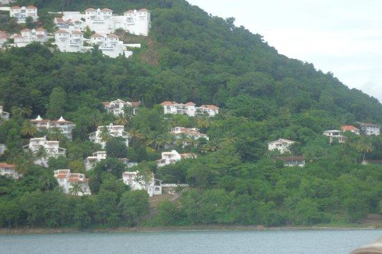 Windjammer Landing Villa Beach Resort: View from Ocean