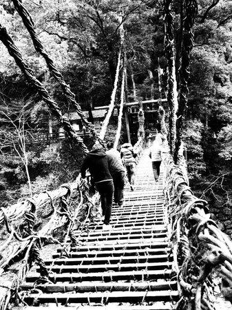 Miyoshi, Japón: かずら橋