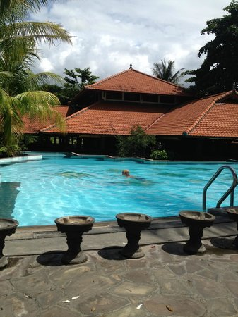 Nugraha Lovina Seaview Resort: Pool area