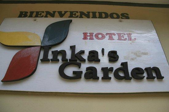 Inka Paradise Hotel: Signage
