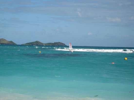 St. Jean Beach: St Jean Beach surf