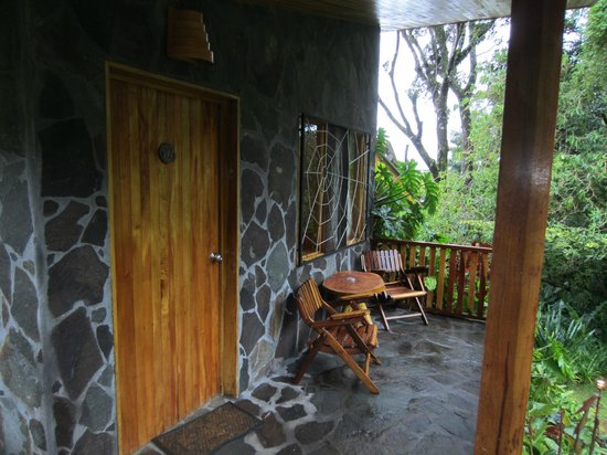 Arco Iris Lodge: Our patio