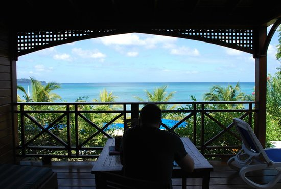 Calabash Cove Resort and Spa: View from cottage #6