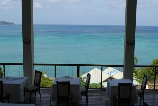 Calabash Cove Resort and Spa: View from restaurant
