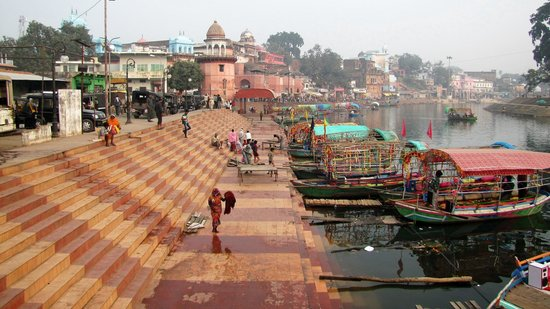 Chitrakoot, Ấn Độ: Interesting during the day, exceptional at night!