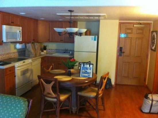Kauai Coast Resort at the Beachboy: Kitchen in One Bedroom Suite
