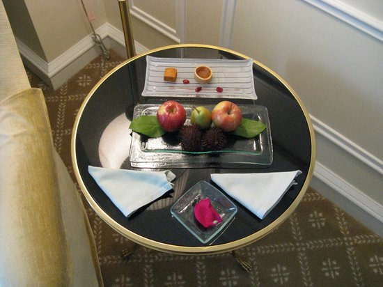 The Peninsula Beverly Hills: Welcome gift