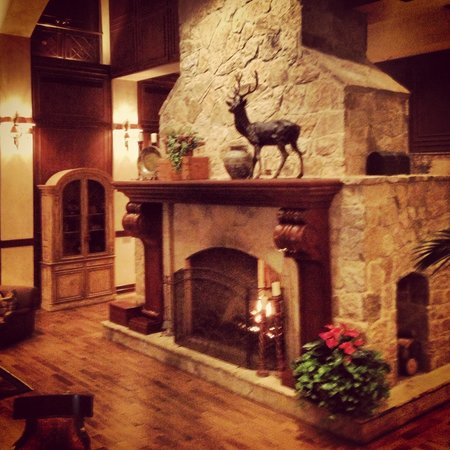 The Houstonian: Fireplace