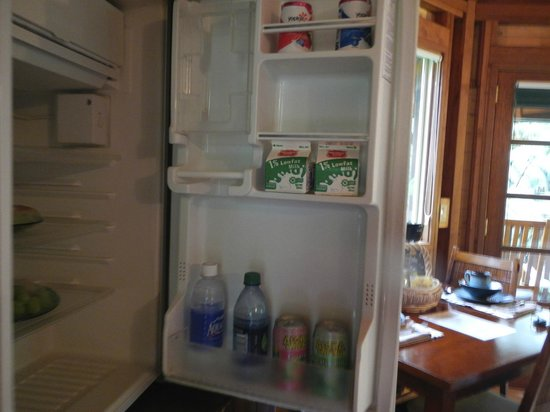 Volcano Village Lodge: Fridge