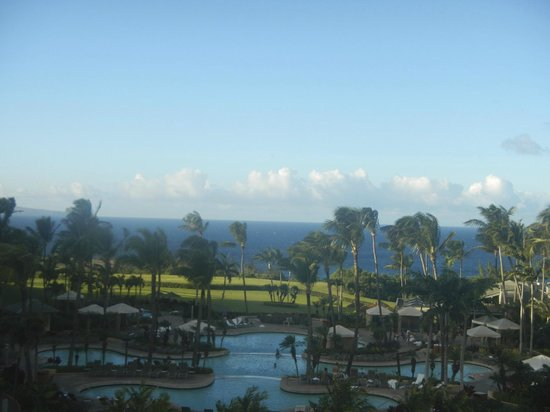 The Ritz-Carlton, Kapalua: View from bar