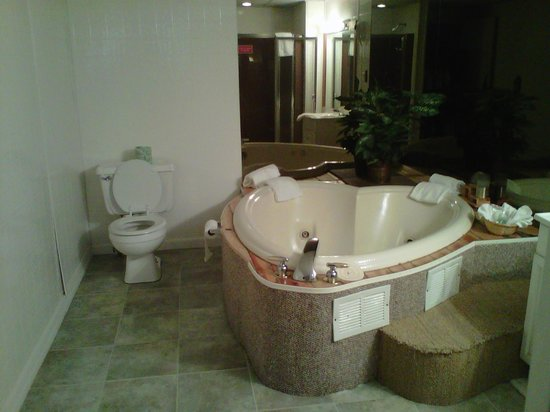 Mt. Haven Resort & Restaurant: Jacuzzi in the room