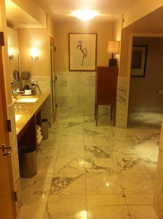 Borgata Hotel Casino & Spa: master bathroom