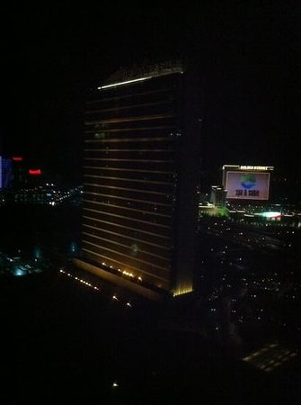 Borgata Hotel Casino & Spa: view at night from Suite 2803 of the WaterClub
