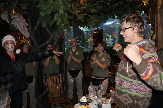 Rainforest Cafe: здорово, мы именинники!