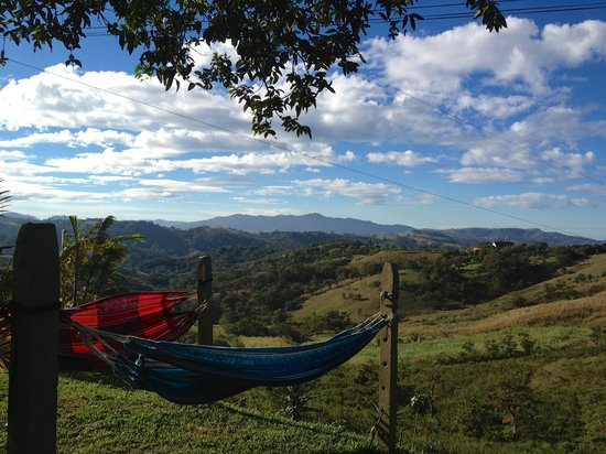 Angel Valley Bed and Breakfast: the valley