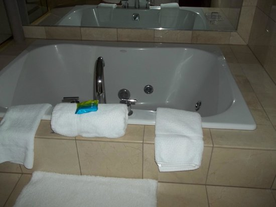 Radisson Hotel & Conference Center Green Bay: 2 person jet tub