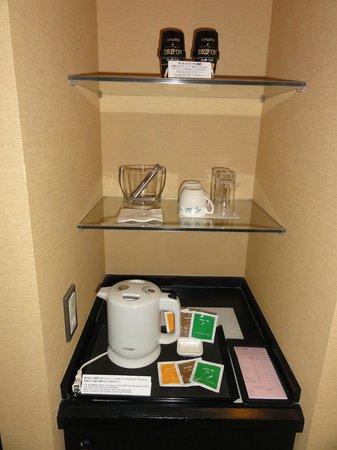 JR Tower Hotel Nikko Sapporo: tea set