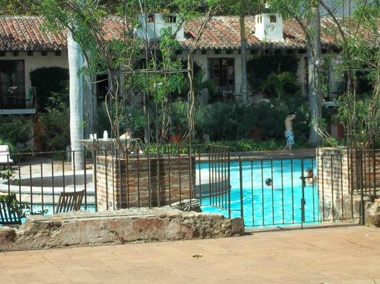 Hotel Museo Spa Casa Santo Domingo: refrescante piscina