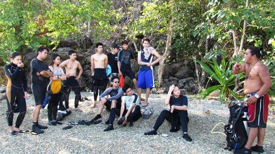 Majika's Island Resort: FUN DIVE BRIEFING BY DM MARLON 