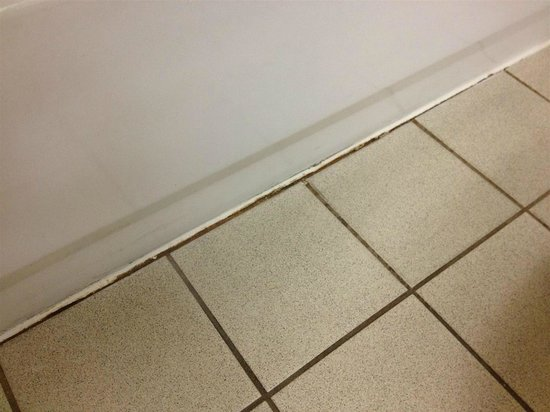Hampton Inn Savannah - I-95/Richmond Hill: bathroom floor at tub