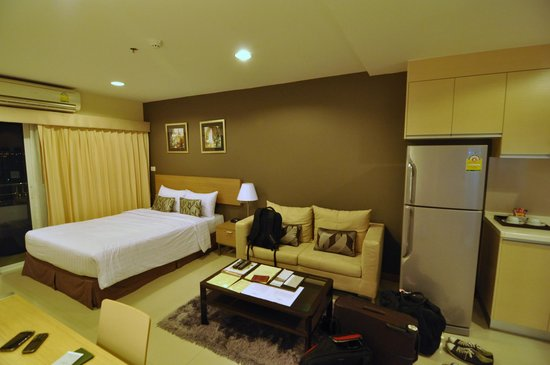 Viva Garden Serviced Residence: the room (superior)