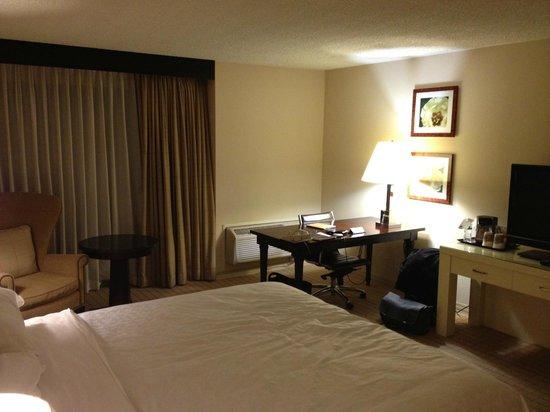 شيراتون سان خوسيه هوتل: Room 824 