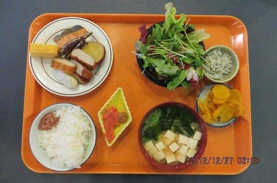 Kyukamura Ibusuki : 朝食 たくあんとさつま揚げが絶品でした