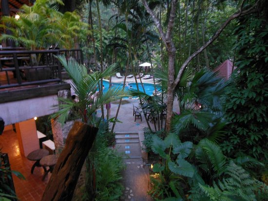 River Kwai Resotel : The pool