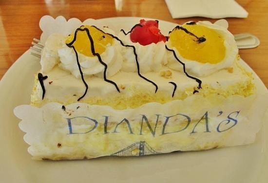 Swell Best Bakery In San Mateo Review Of Diandas Italian American Funny Birthday Cards Online Benoljebrpdamsfinfo
